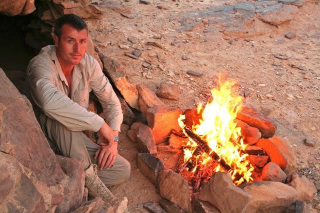 desert survival campfire